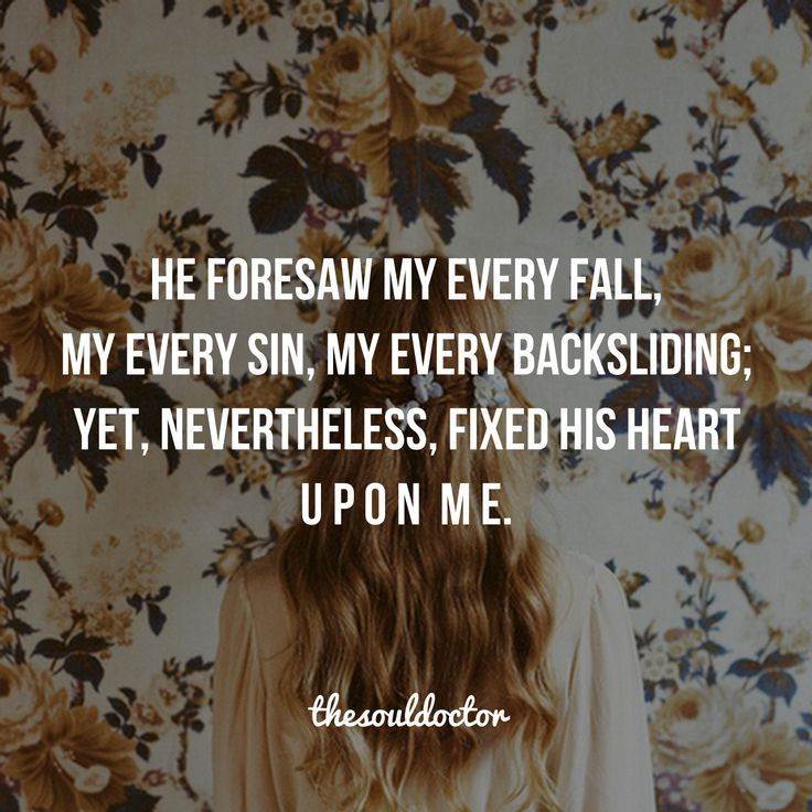 Our destiny is already written. Every pain, every mistake, everything... God already knows. He WILL USE IT to get you where he wants you to go. Trust Him. He LOVES YOU. Yes, YOU. xo