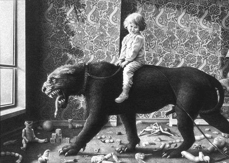 Laurie Lipton - Leashed Passion