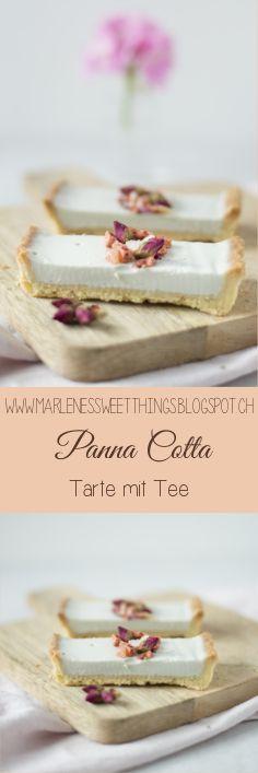 Tee Panna Cotta Tarte - Panna Cotta Tarte with Tea