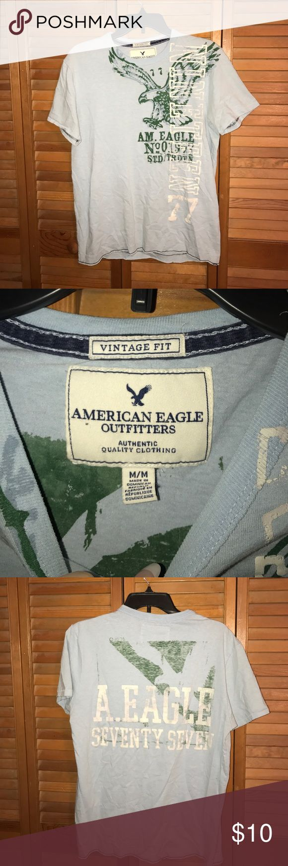 Men's American Eagle Men's American Eagle shirt size medium. Great condition! American Eagle Outfitters Shirts Tees - Short Sleeve