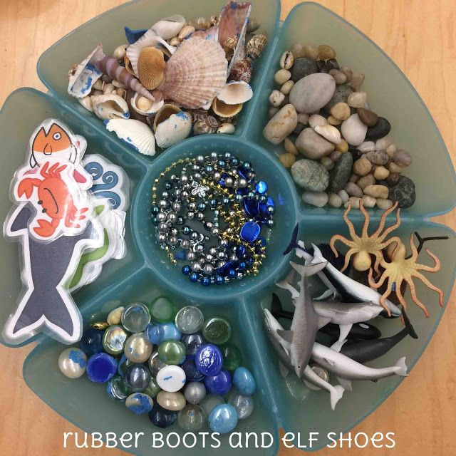 play dough and loose parts throughout the kindergarten year