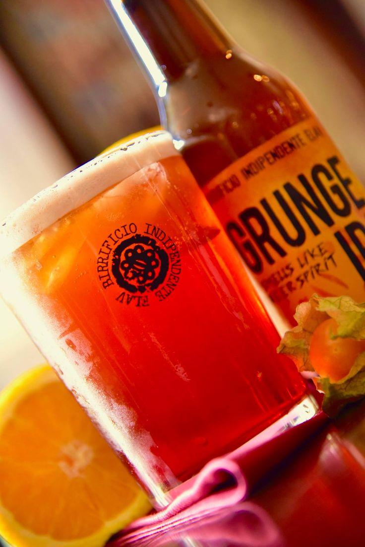 American Grunge Shakerato di Bitter Campari e Martini Rosso finito con #GrungeIpa