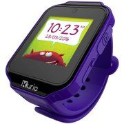 Kurio Kids Smartwatch Bluetooth Watch with Messaging, Apps, Games, Tracker and Camera for Photo and Video - Lavender