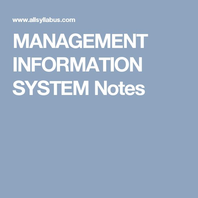 management information system test notes Here is the best resource for homework help with mis 3300 : management information systems at university of houston find mis3300 study guides, notes, and.