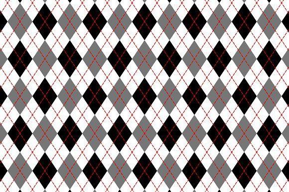 Black White Argyle Checker Pattern Checkered Pattern Black And White Background Graphic Patterns