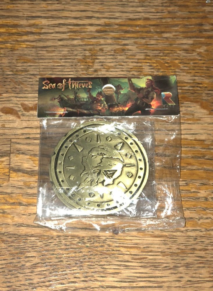 Details about Sea of Thieves limited edition collectible coin (NEW