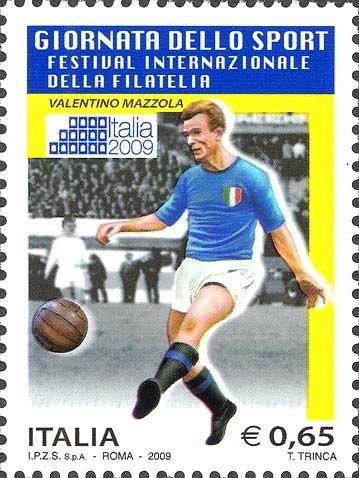 Italia 2009 - giornata dello sport  - Valentino Mazzola