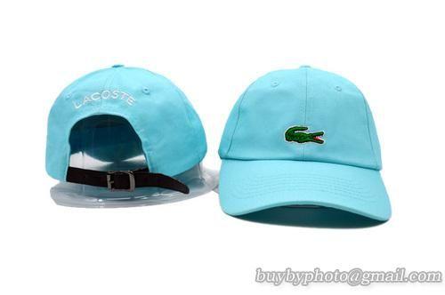Cheap Wholesale Lacoste Baseball Caps Cyan Street Hats for slae at US$8.90 #snapbackhats #snapbacks #hiphop #popular #hiphocap #sportscaps #fashioncaps #baseballcap