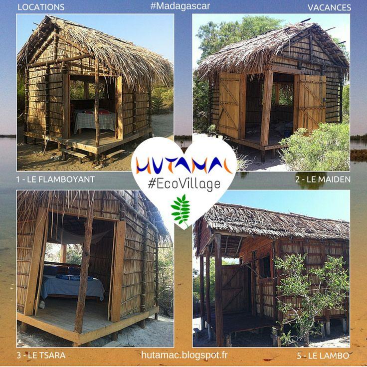 HUTAMAC : Ecovillage - Hôtel à Belo sur Mer - Madagascar (sanjayy@live.ca) +261336295101: ♡ Affiches