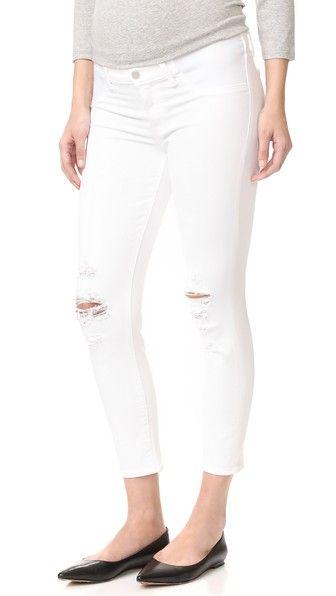 J BRAND Mama J Maternity Capri Jeans. #jbrand #cloth #dress #top #shirt #sweater #skirt #beachwear #activewear