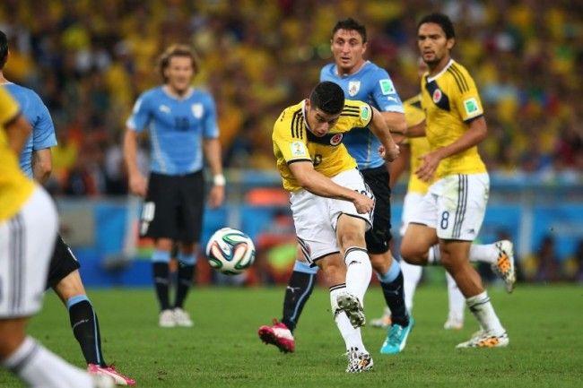 James Rodriguez strzelił piękną bramkę • Kolumbia vs Urugwaj • Mistrzostwa Świata • Gol Jamesa Rodrigueza • Fifa World Cup 2014 >>