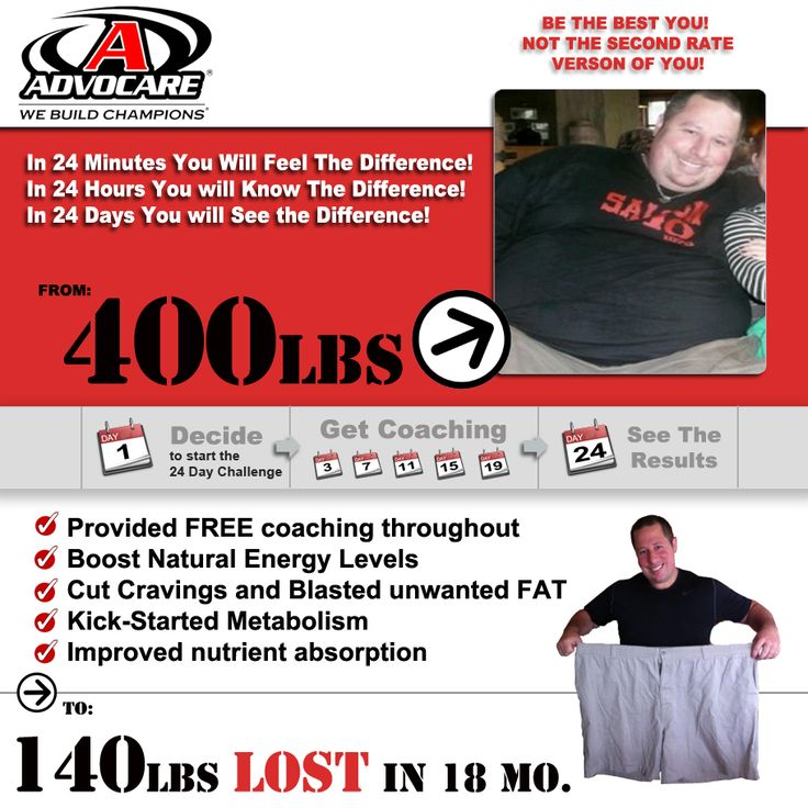 The results you can get with AdvoCare are great. To have the ability to get your health back and start creating a healthy lifestyle is just one opportunity AdvoCare has to offer. www.buildyourhopesanddreams.com