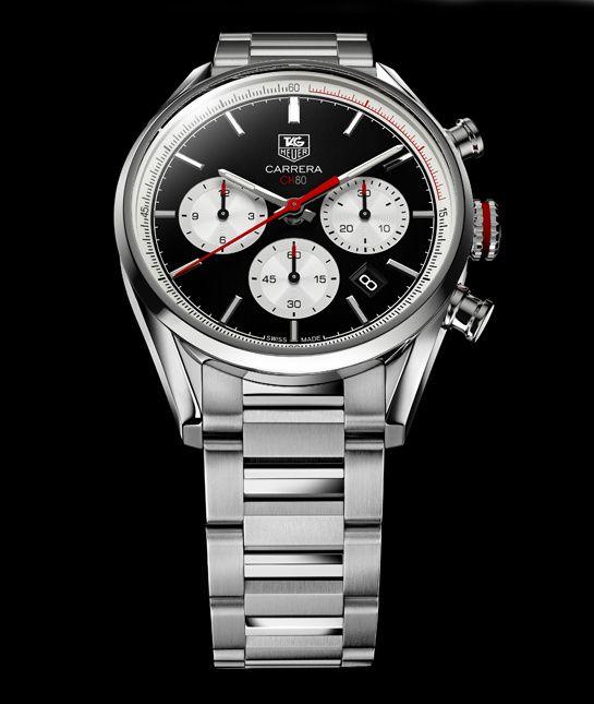 La montre Carrera CH 80 de Tag Heuer http://www.vogue.fr/joaillerie/a-voir/diaporama/baselworld-2014-les-belles-montres-de-bale-jour-2-horlogerie-rolex-hublot-buccellati-vulcain-tag-heuer/18131/image/990248#!horlogerie-bale-2014-tag-heuer-montre-carrera-ch-80