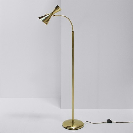 Italian Brass Floor Lamp