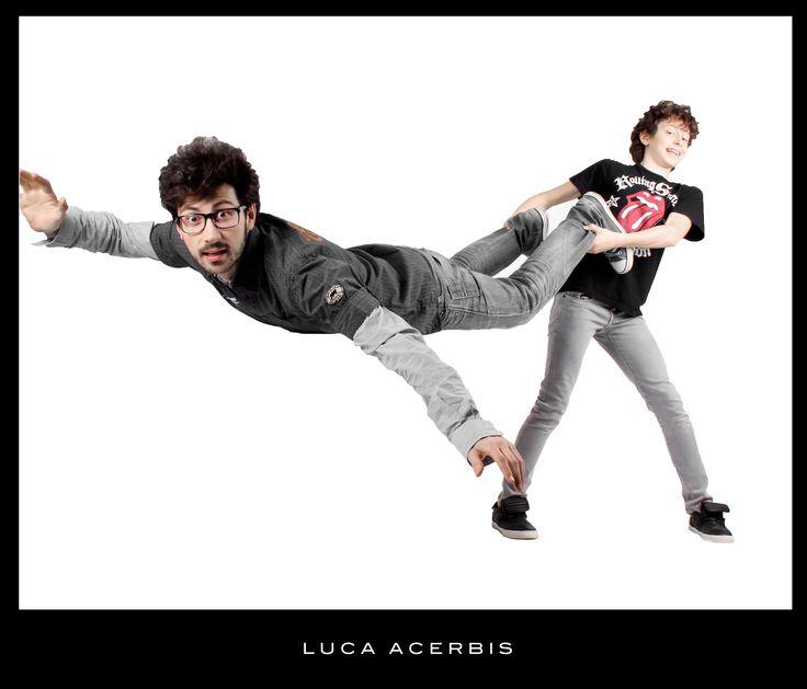 Photographer Luca Acerbis.Models Luca Acerbis e Marco Acerbis. From Brescia