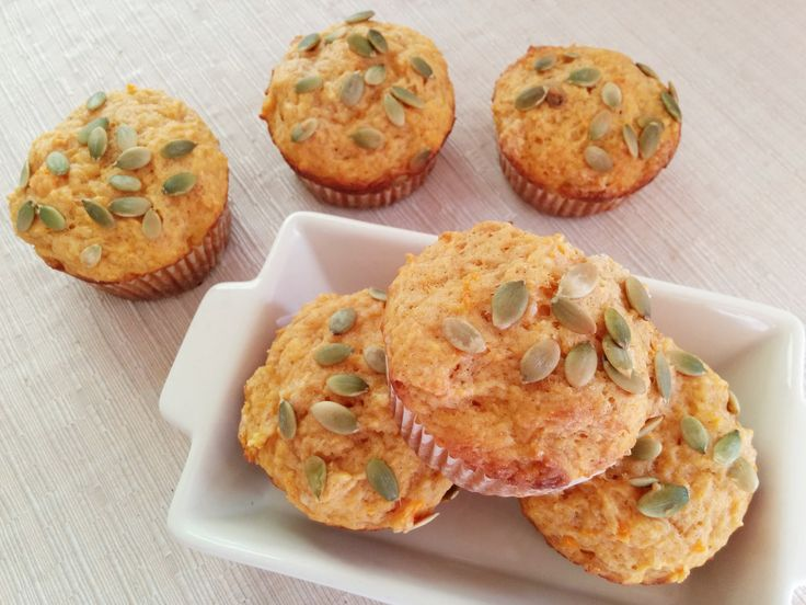 These fat free cake-like pumpkin muffins are super easy to make and are perfect for any season. Although it's a fat free recipe, you won't be able to tell because the pumpkin helps keep everything nice and moist on the inside.  They are perfect to have as a breakfast, as an afternoon snack or as an add-in to any lunch box!