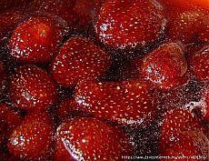 dżem truskawkowy bez gotowania jagody ..