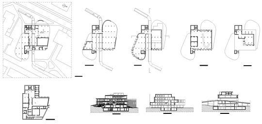 Le Corbusier - Carpenter Visual Arts Center dwg