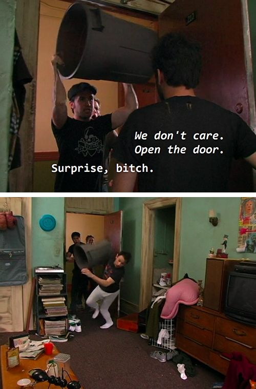 "When they said hi in the most appropriate way. | 25 Times ""It's Always Sunny In Philadelphia"" Was Superbly Fucked Up"