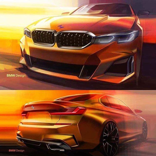 Bmw M340i Sketches By Jacek Pawlowski Cardesign Automotivedesign Vehicledesign Formtrends Cardesignsketch Conceptcar Des Bmw Design Bmw Sketch Bmw Art