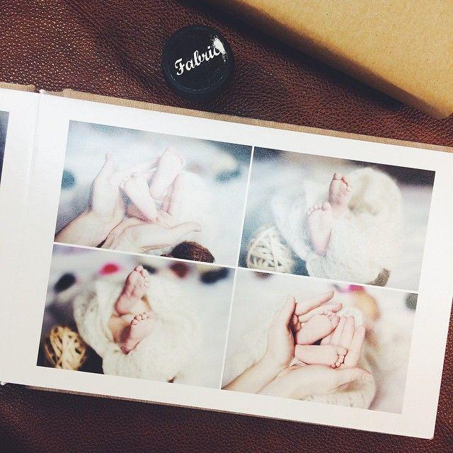 Фотокниги серии fabric прекрасно подходят для детских фотографий #album #spb #famebook