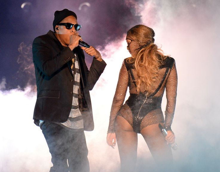 Who saw Jay-Z and Beyonce at the Sun Life Stadium last night?