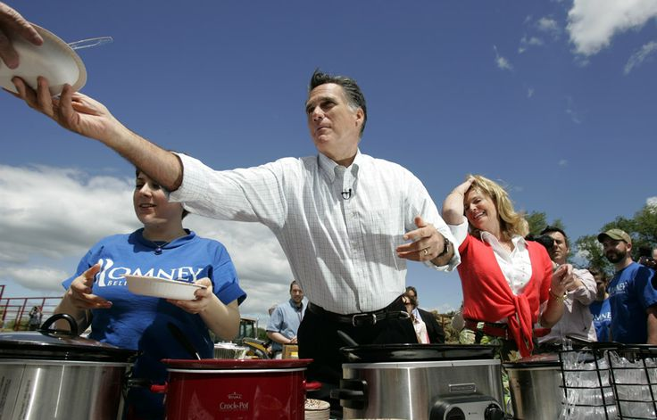 Mitt Romney's Wife | hairstyles Mitt Romney, with his wife Ann Mitt Romney supporters dish ...