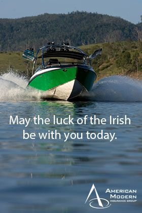 Happy St Patrick's Day!  Are you wearing your #green today?  @American Modern Insurance Group