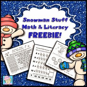 One of my past posts listed 11 free kindergarten math centers for winter ( CLICK HERE to visit that post ). This is the companion pos...