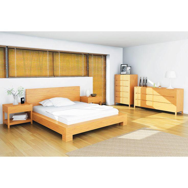 Brandt Bed Frame Caramelized | Dotandbo.com