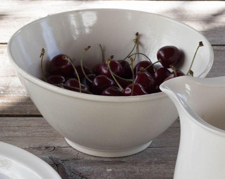 Vintage cream ware