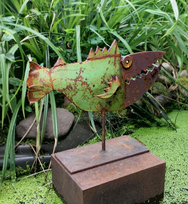Chris Kircher Altmetallkunst Metallkunstprojekte Metallkunst Skulptur