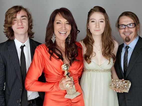 kurt sutter and katey sagal and their kids | TV Faves ...