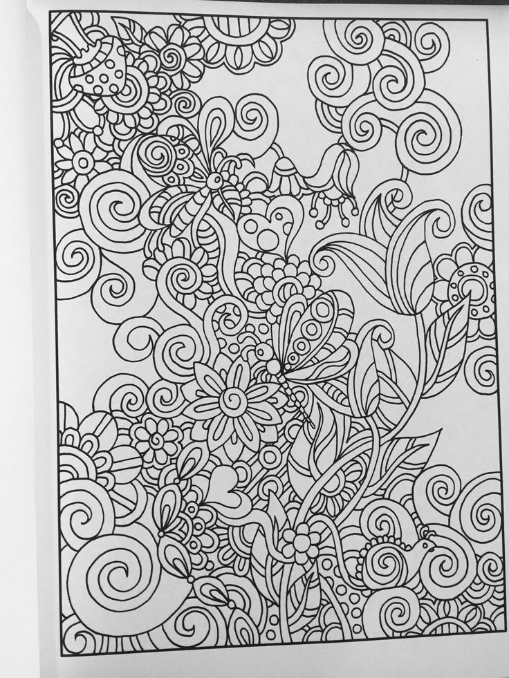 Coloriage Hidden PicturesAdult ColoringColoring BooksDoodle ColoringStress TwistsDoodlesButterflyMandalas