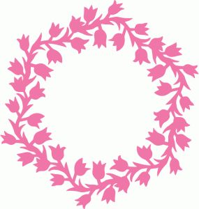 lily of the valley wreath