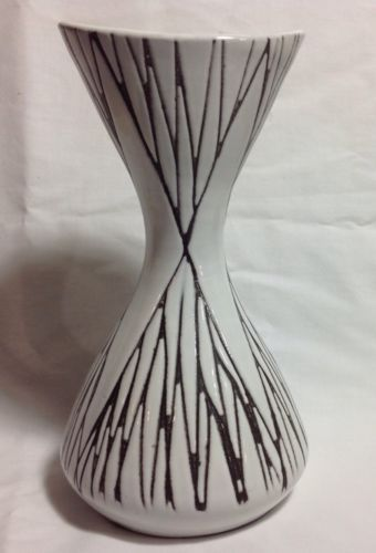 Mari Simmulson Upsala Ekeby Sweden Art Pottery Abstract Vase | eBay