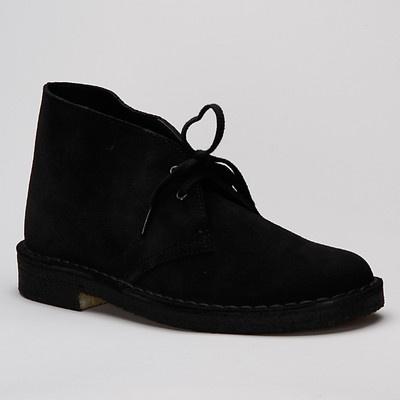 Clarks Desert Boot Black - Karltex