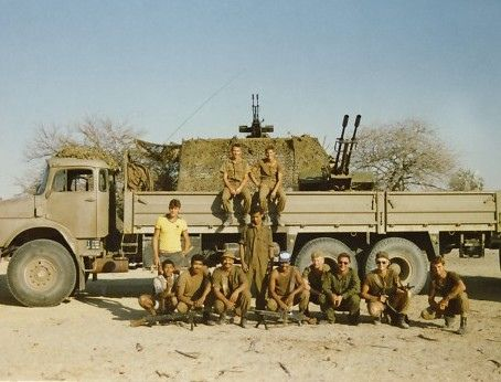 This group is about what South Africans called the South African Border War or Grensoorlog. Any pictures or videos of any aspect from all sides related to this long but under reported conflict is welcome. Be they South African (SADF, ECC, ANC etc), Namibian (SWAPO,SWATF etc.), Angolan (MPLA, UNITA, FNLA etc) or Cuban, Russian, East German, or American. Pictures of Video need not only be of a military kind. Any pictures of places or cultural artifacts welcome. If you can, please GEO tag...