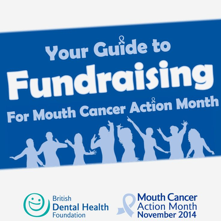 Fundraising Guide – Mouth Cancer Action Month 2014. Download your guide to fundraising for Mouth Cancer Action Month 2014 from here - http://www.mouthcancer.org/downloads/ #MCAM14 #Bemouthaware