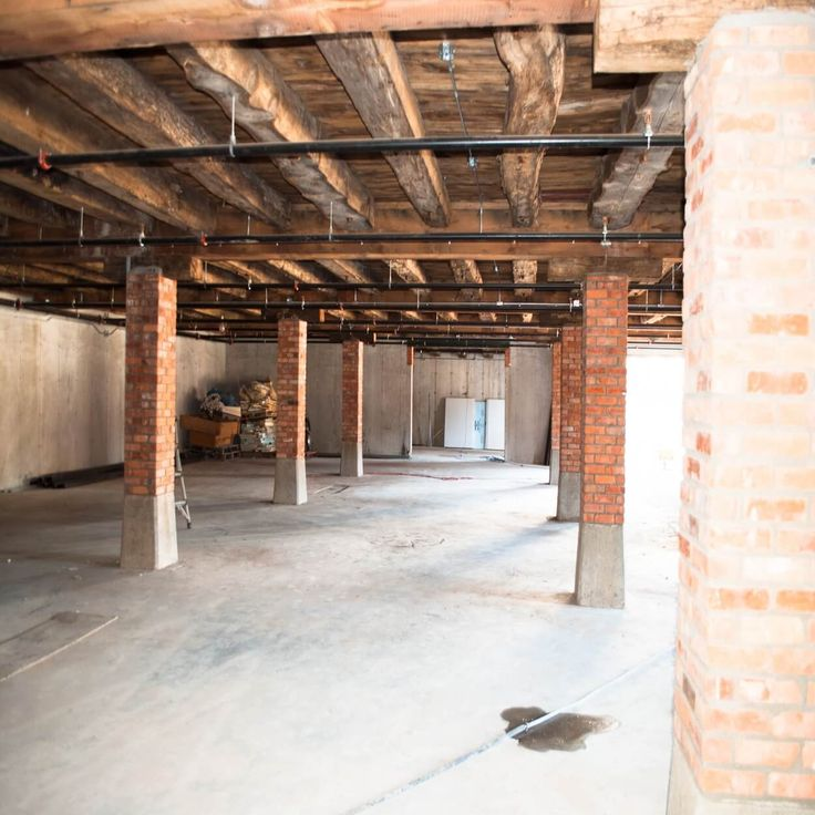 Basement area will be used for a variety of venues including the local farmers market during the summer months.
