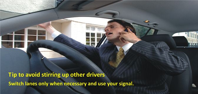 Your fellow drivers cannot hear you when you shout at them, so why get yourself worked up for an audience of none? #pneusete