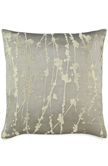 Donna Karan Metallic Embroidered Silk Pillow (Online Only) available at #Nordstrom. i've never shopped @ nordstroms. i think the reason is the prices! LOVE this pillow, but if anyone can afford (& i know there are way too many people) to pay this price, they get paid TOO MUCH.