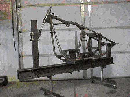 MechWerks Frame Jig for Chopper and Custom Motorcycle Fabrication