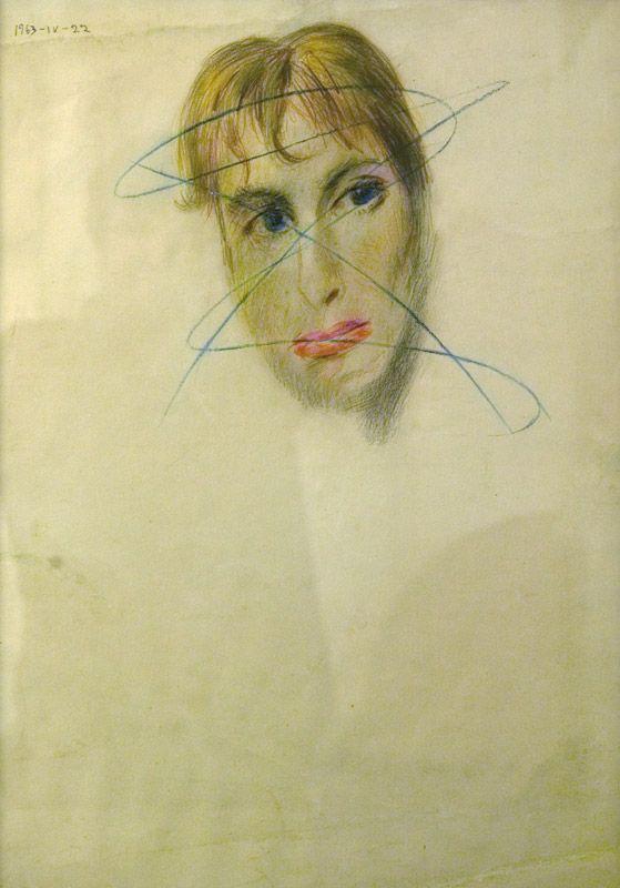 Василий Ситников (1915-1987) - Портрет Елены Ивановой, 1963. ART4.RU