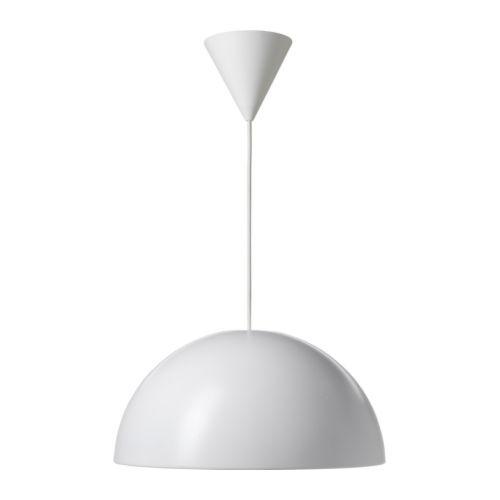 IKEA 365+ BRASA Candeeiro suspenso - branco - IKEA