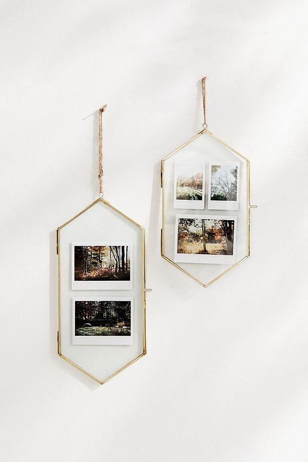 Monroe Hanging Hexagon Gallery Picture Frame Picture Frame Gallery Room Decor Decor