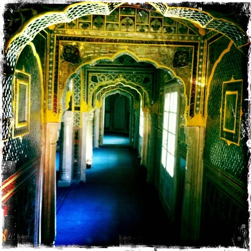 Walking through the corridors - Photographed by Collette Dinnigan