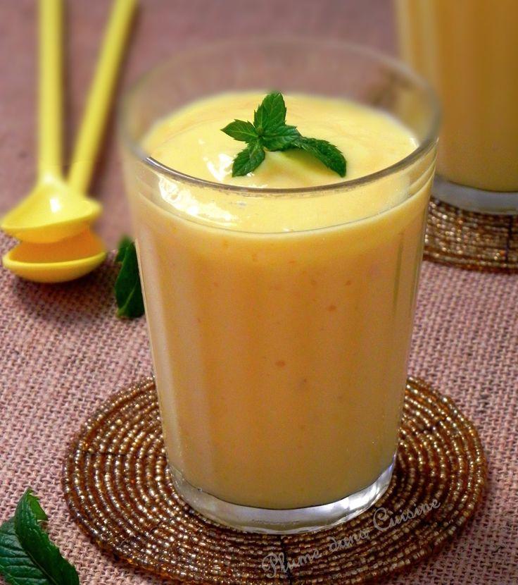 mango lassi, boisson raffraîchissante (recette indienne)