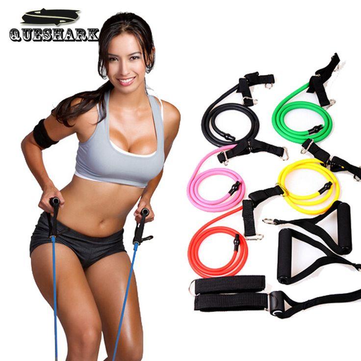 Elastic Pull Rope Cross fit Training