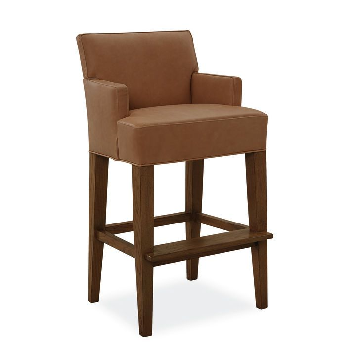 Leather Bar Stool L Lee Industries